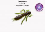 Силиконова примамка Crazy Fish Kasari 27mm