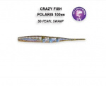 Силиконова примамка Polaris 10см Crazy Fish