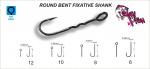 Куки Round Bent Fixative Hook Crazy Fish #8