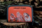 Класьор за блесни Crazy Fish голям 13х20х3см
