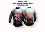 Тениска с дълъг ръкав Crazy Fish Trout Master размер L