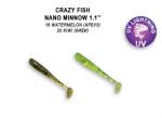 Nano Minnow 27мм Crazy Fish