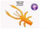 Силиконова примамка Crazy Fish Cray Fish 4.5см