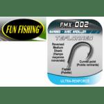Fun Fishing Hooks FMX-002 Barbed Куки