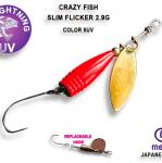 Crazy Fish Slim Flicker 2.9гр. Блесна
