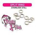 Crazy Fish Split Ring Халкички